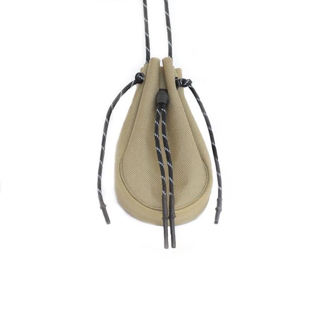 吉岡衣料店 drawstring bag (サコッシュ)【XSサイズ】(バッグ)