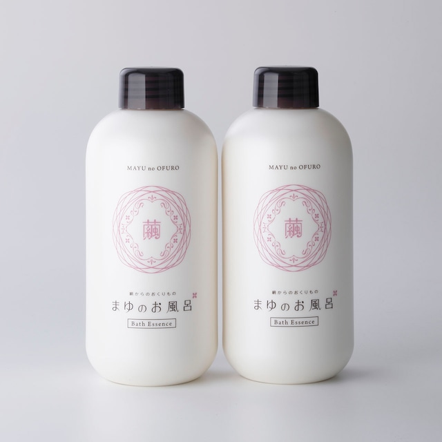 まゆのお風呂ボトル(入浴液)  Mayu ofuro bottle (Bath Essence)