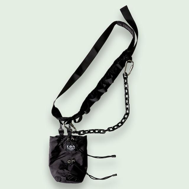 TCR-TEX MILITARY BODY BAG - BLACK