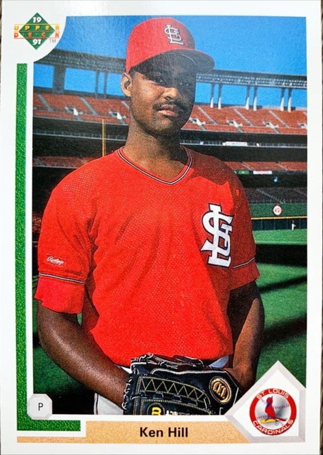 MLBカード 91UPPERDECK Ken Hill #647 CARDINALS