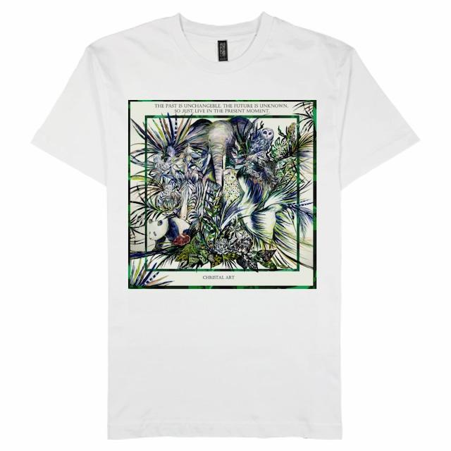 ◆受注生産◆プレミアムコットンTシャツ 「power of life」柄