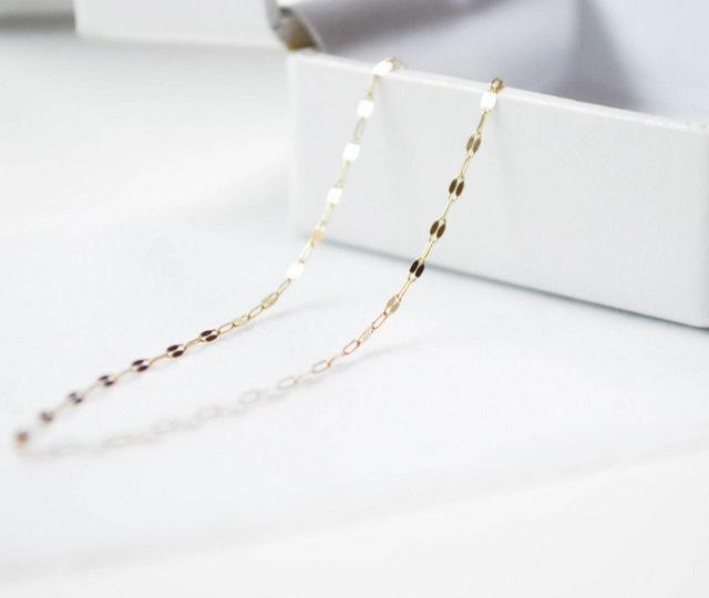 K10 Design Cut Chain Bracelet