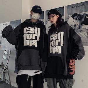 【トップス】ストリート系ファッション暗黒系男女通用パーカー43312531
