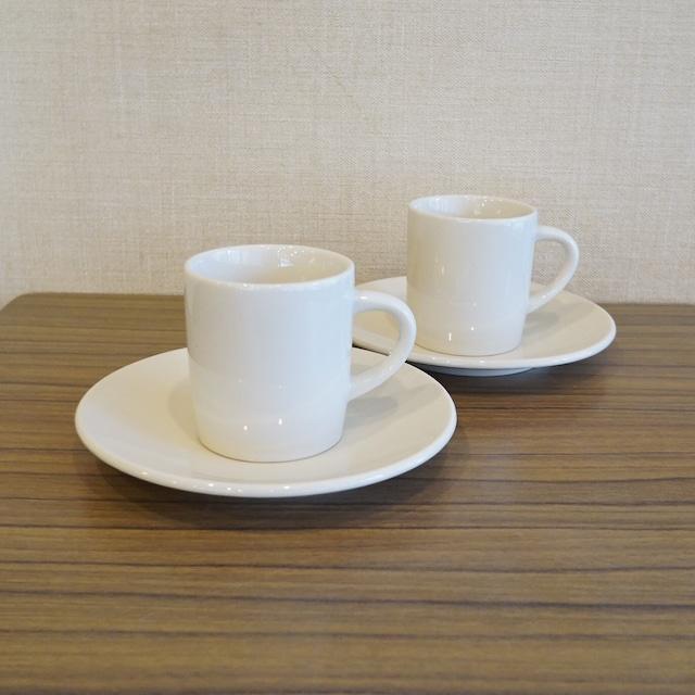 エデン 創業当時のコーヒーカップ(ストレート型)2客セット