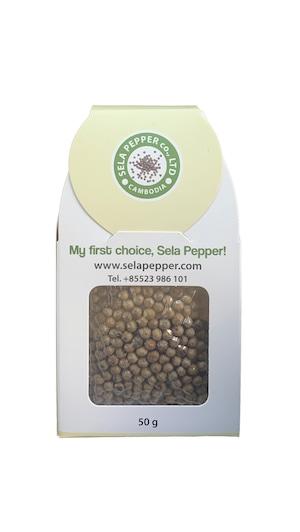 白胡椒 White Pepper Corn 50g