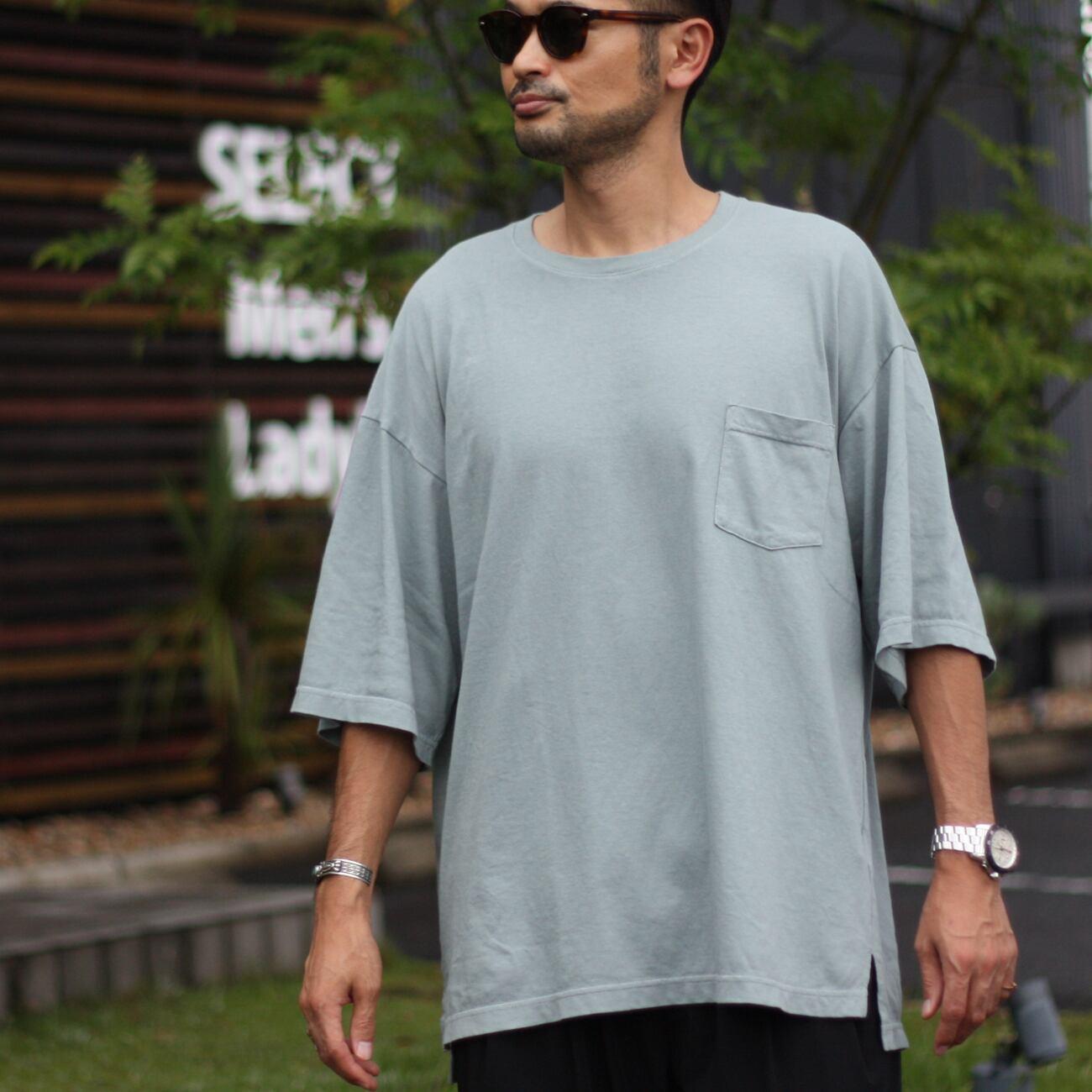 JOHNBULL/ジョンブル ディアブロポケットTシャツ 25792
