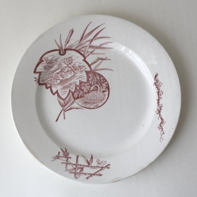 NIMY dinner plate /uv0004