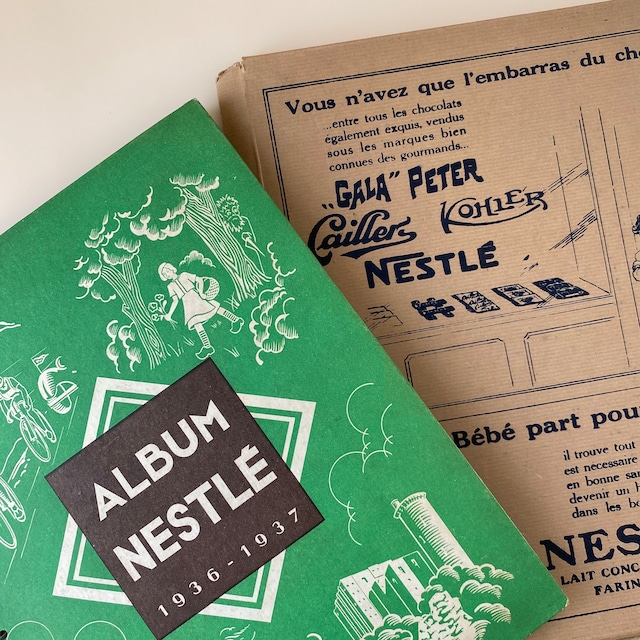 Nestlé おまけカードアルバム 1936-1937  / vp0107