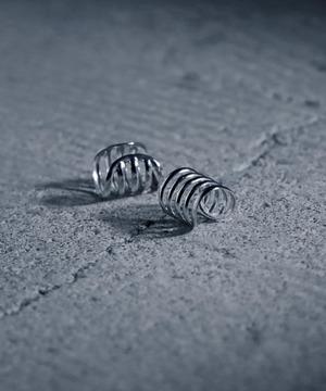 YJE64010323【YArKA/ヤーカ】silver925 5line ear cuff /シンプルイヤーカフ シルバー925