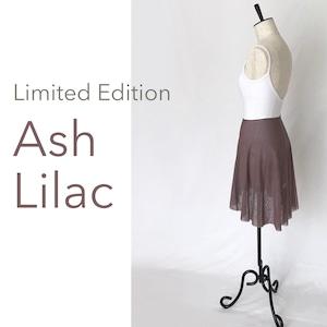 "◆Limited Edition・Minimalist Ballet Skirt ""ASH LILAC""(限定カラー:アッシュ・ライラック))"