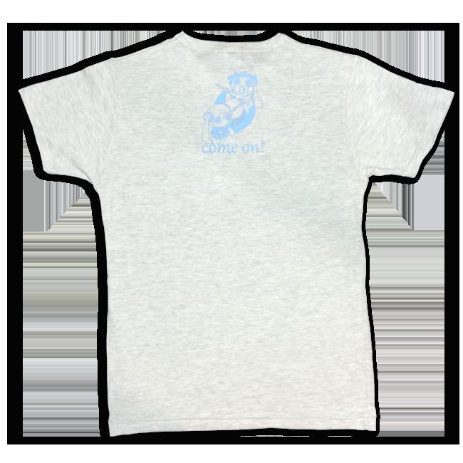 「ピノキオピー2015年祭りだヘイカモン」Tシャツ(メンズ/オートミール) - 画像2