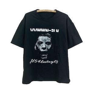 プリントTシャツ |VETEMENTS風 モノトーン グラフィックT  半袖シャツ ストリート 【順次発送商品】
