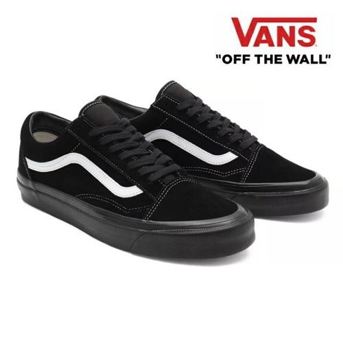 VANS バンズ ヴァンズ オールドスクール メンズ スニーカー Old Skool 36 Dx (Anahaim factory) og black white/og black