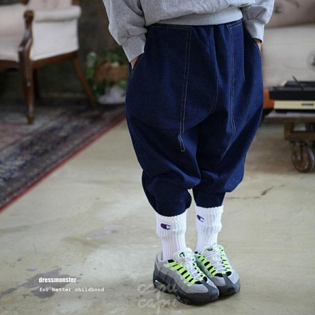 «sold out» dressmonster line denim pants 2colors ラインデニム