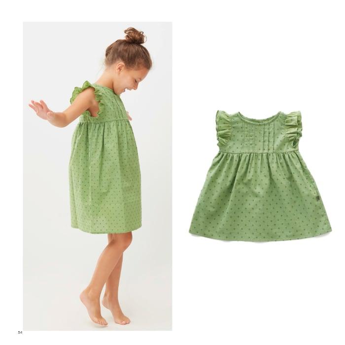 Oeuf swiss dot dress ( 8Y)