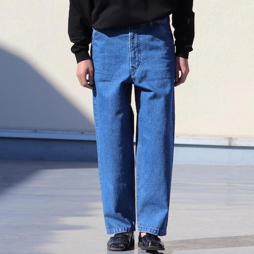 Selvedge Denim Utility Pants Blue Indigo