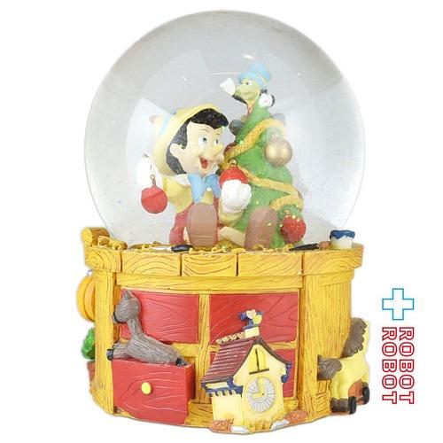 エネスコ ピノキオ クリスマスツリー クリスマス ウォーターグローブ