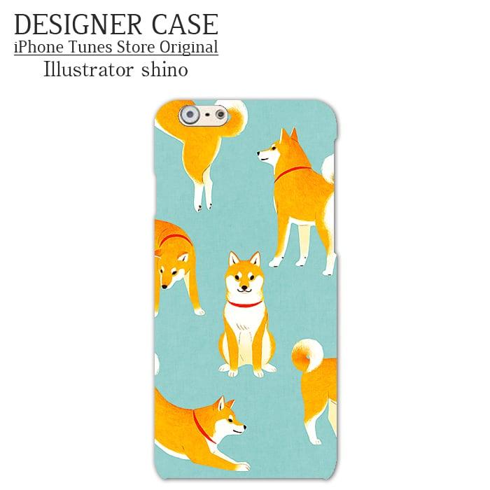 iPhone6 Soft case[shibaken color] Illustrator:shino