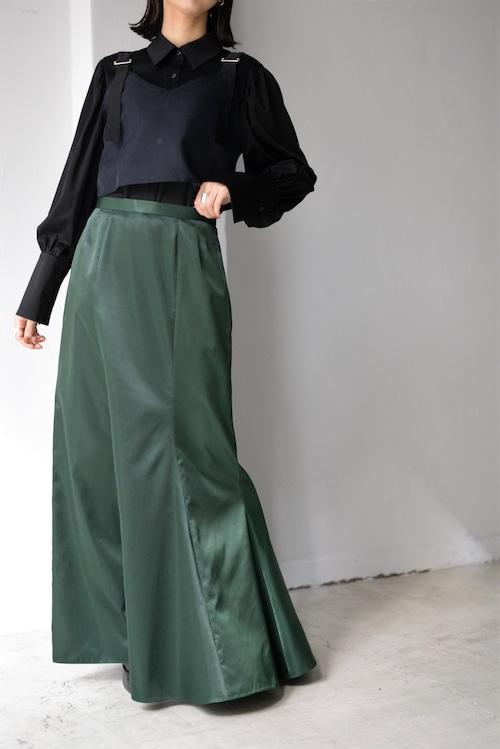 ROOM211 unique / ramdom flare skirt