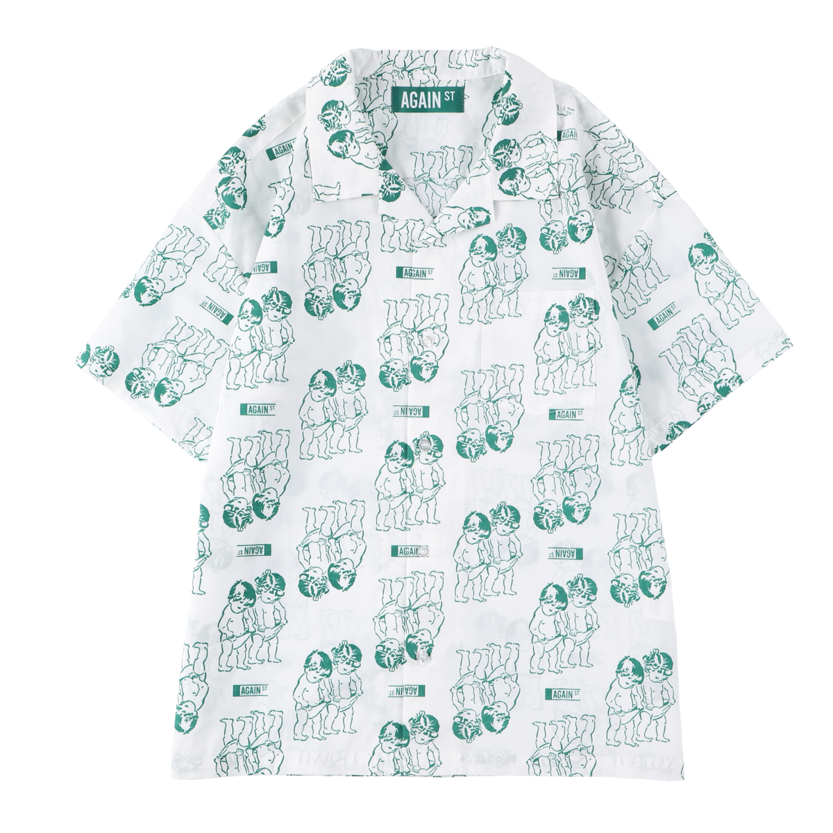 DISCOVERY SHIRTS S/S / WHITE