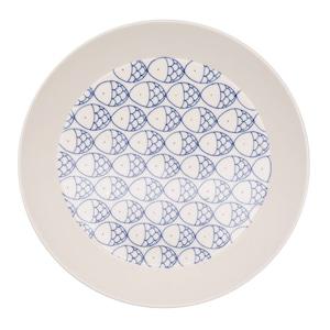 砥部焼 すこし屋 プレート 皿 約22cm さかな 229044