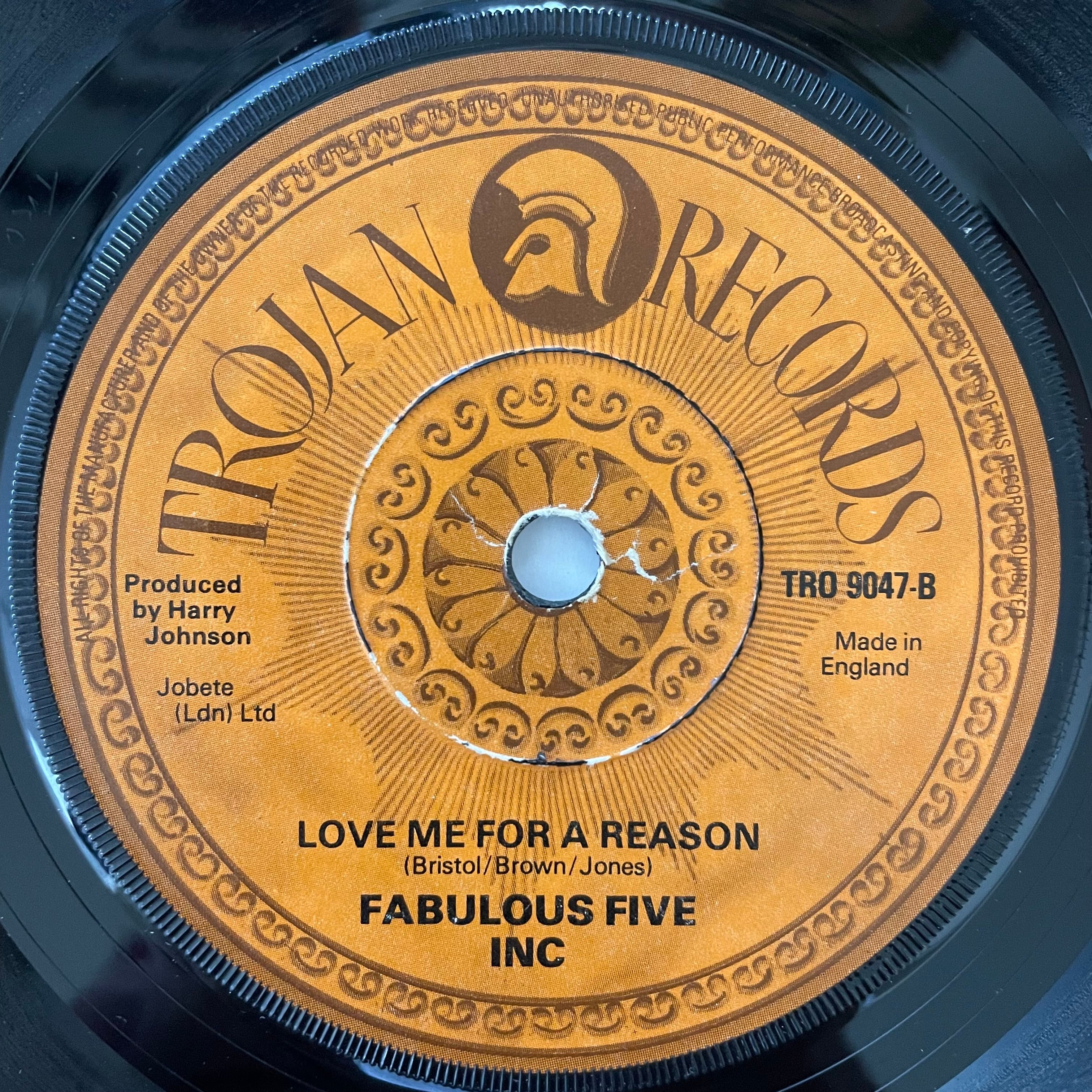 Fabulous Five Inc - Love Me For A Reason【7-20767】