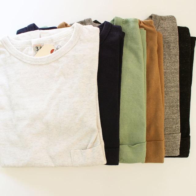 FilMelange (フィルメランジェ) DIZZY ディジー オーガニックコットン 吊り編み ポケットTシャツ