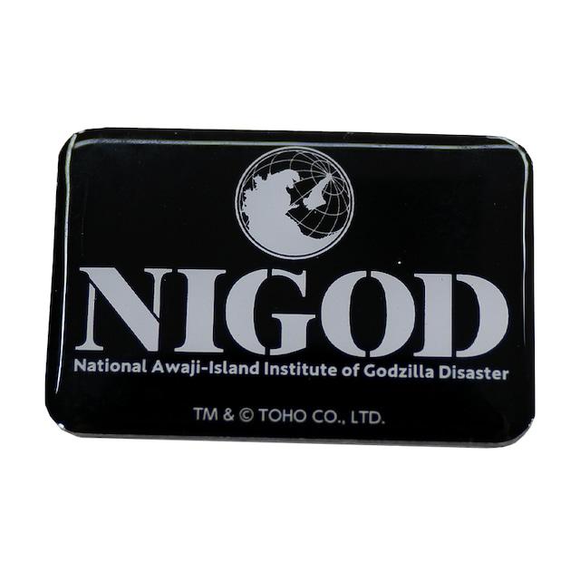 ピンバッジ(NIGOD)