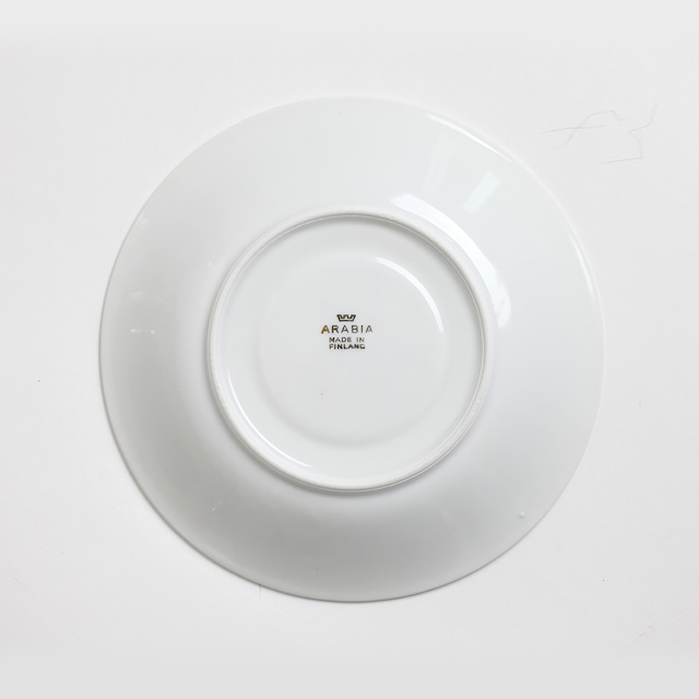 ARABIA アラビア Ruusu ルース 薔薇のコーヒーカップ&ソーサー 3点セット 北欧ヴィンテージ