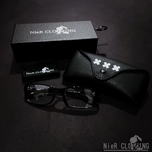 NieR ブルーライトカット眼鏡セット【スクエア】