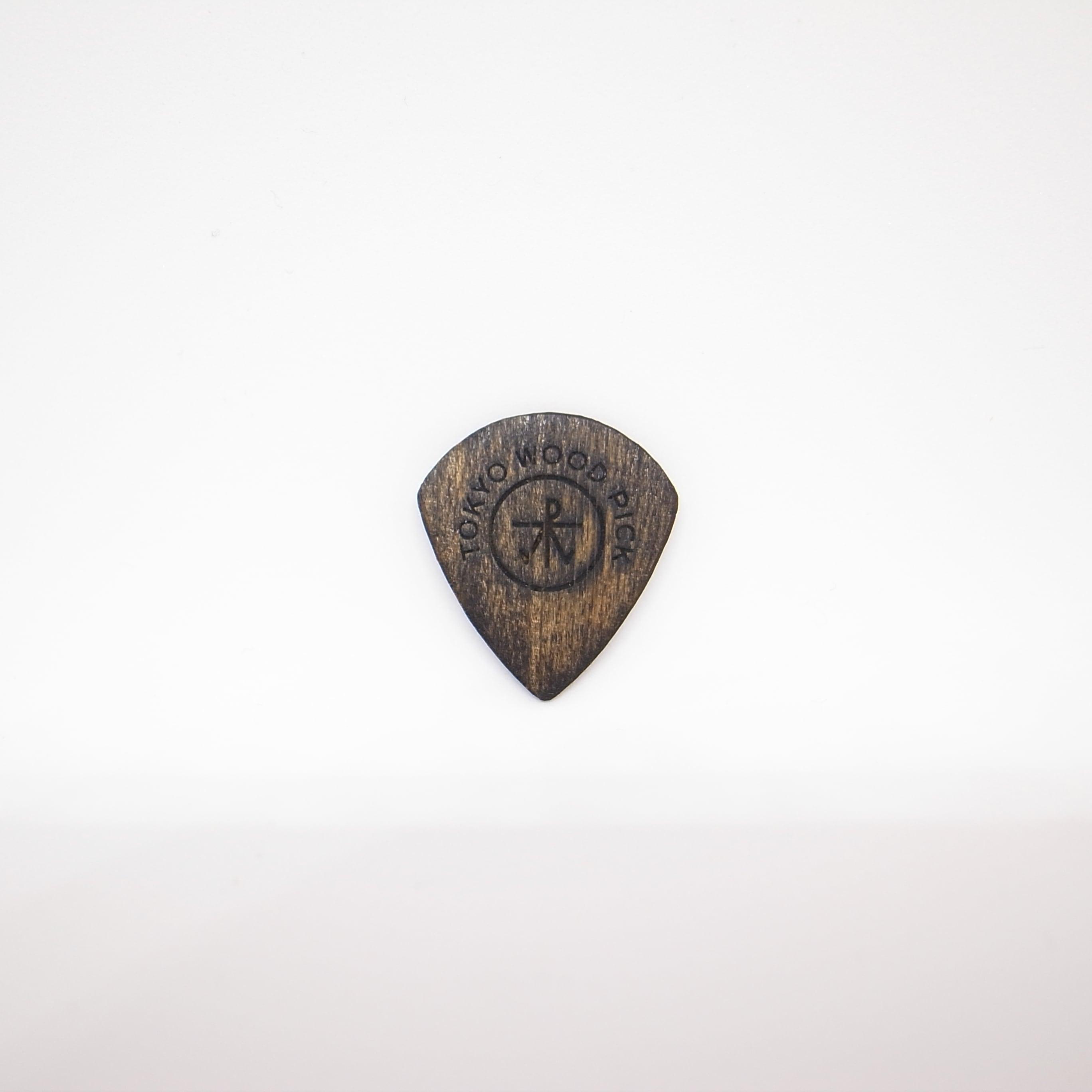 JAZZ型   ギターピック TOKYO WOOD PICK Black