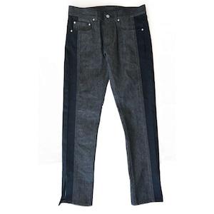 EIGHTYNINE Slit Denim Pants