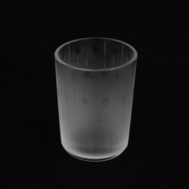 大迫友紀 Yuki Osako 小さなグラス 線と丸 (丸)