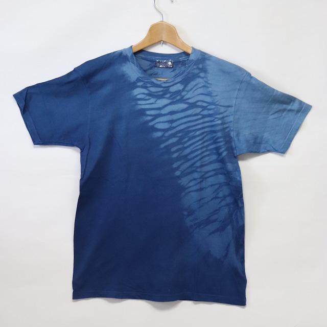 藍染Tシャツ【A】|Lサイズ