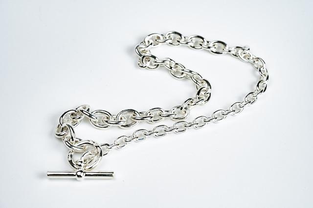 C-028 Hook connect necklace gradually 45cm