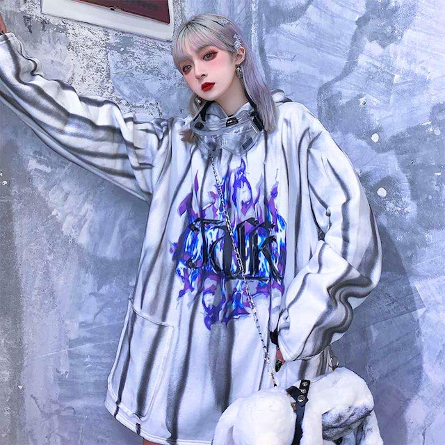 【トップス】原宿ストリートヒップポップファッション暗黒系パーカー42916468