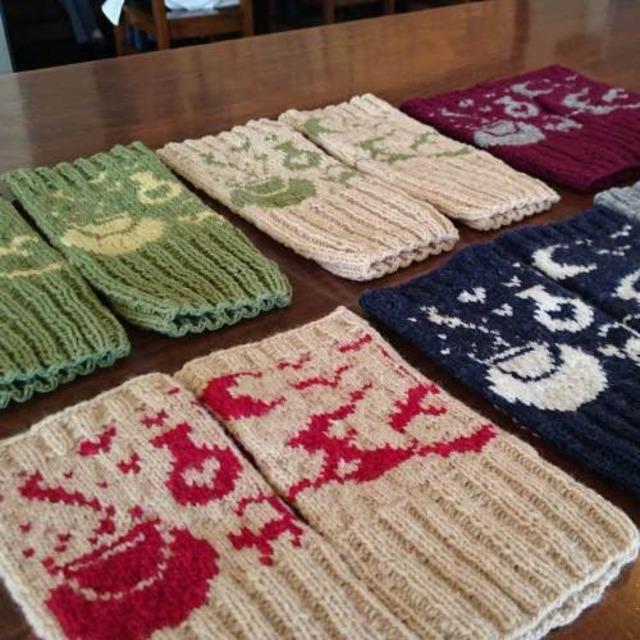 魔女のフィンガーレス 編み物キット byコリドーニッティング
