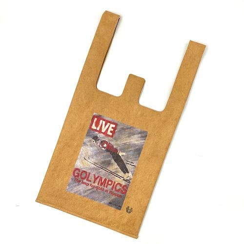 "SAPPORO ""GOLYMPICS"" LIVE Tyvek®︎ paper convenience bag"