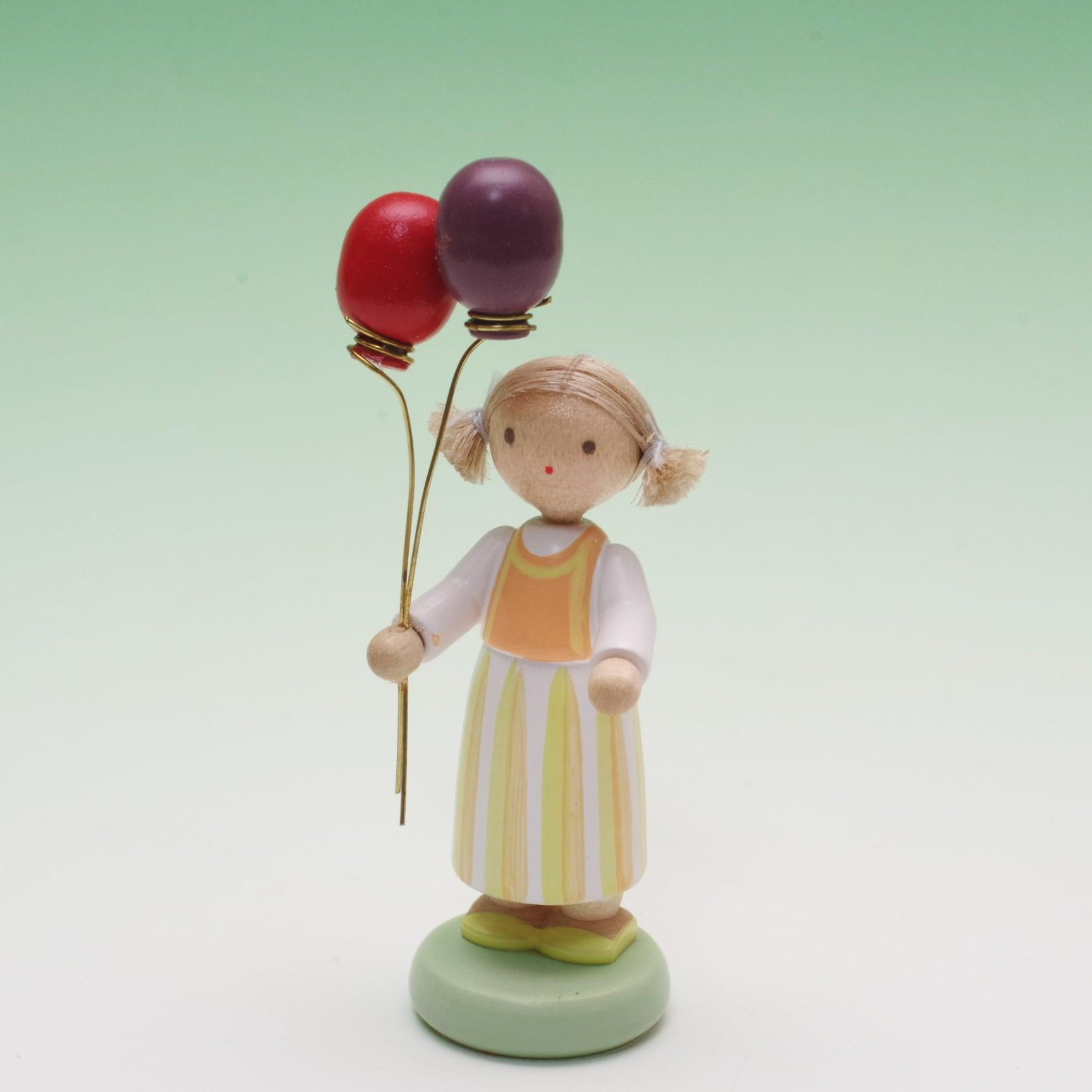フラーデ 女の子と風船