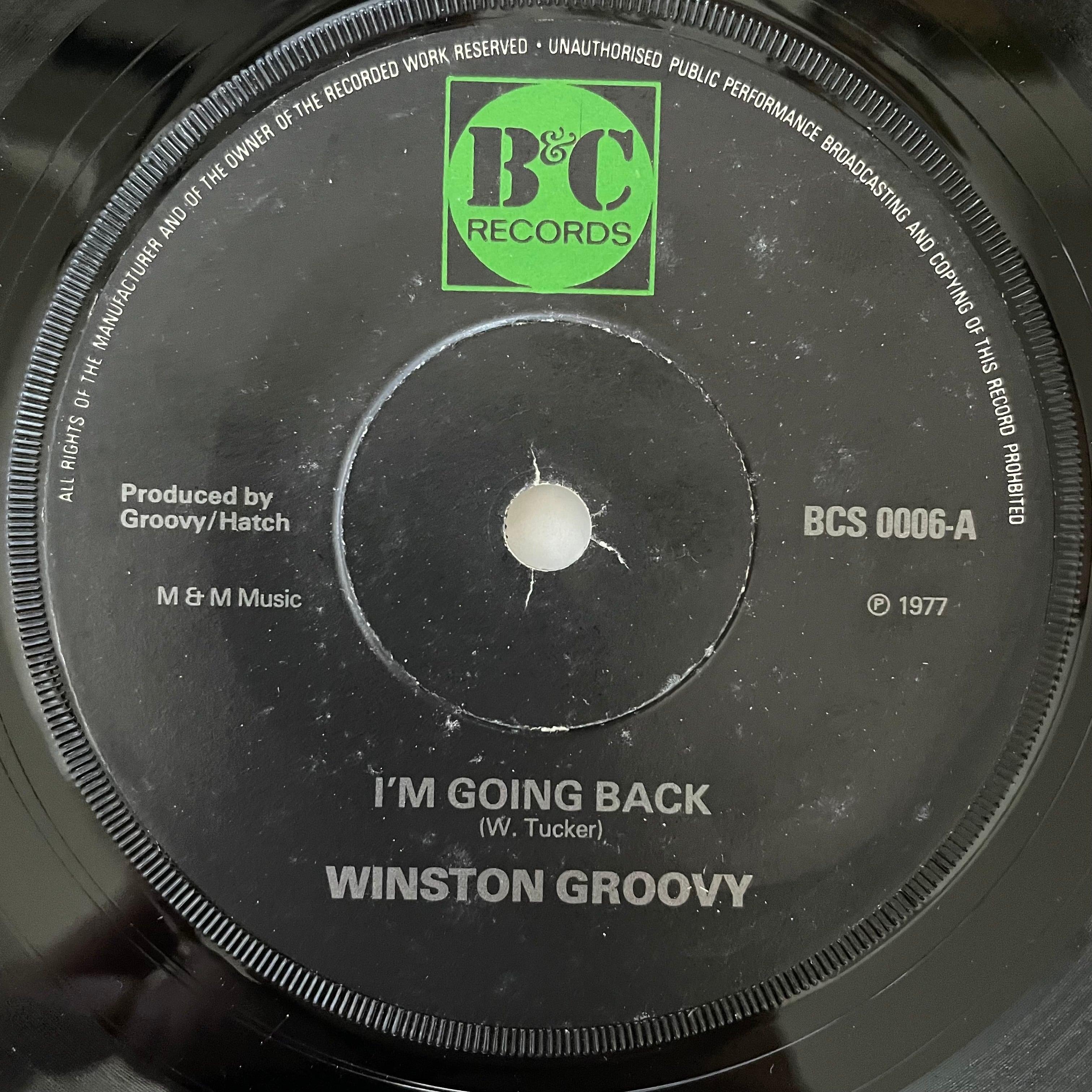 Winston Groovy - I'm Going Back【7-20774】