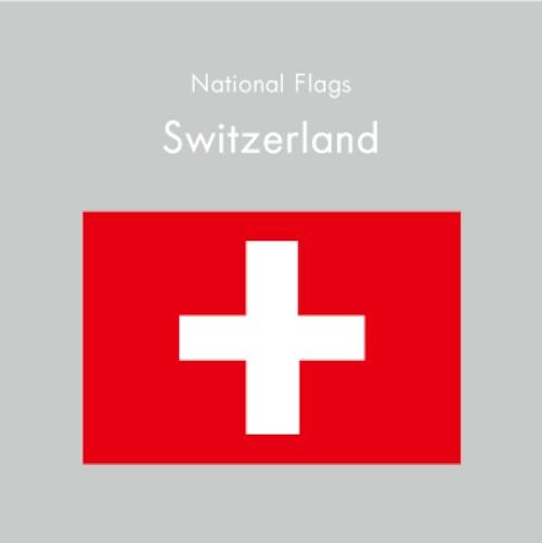 国旗ステッカー スイス