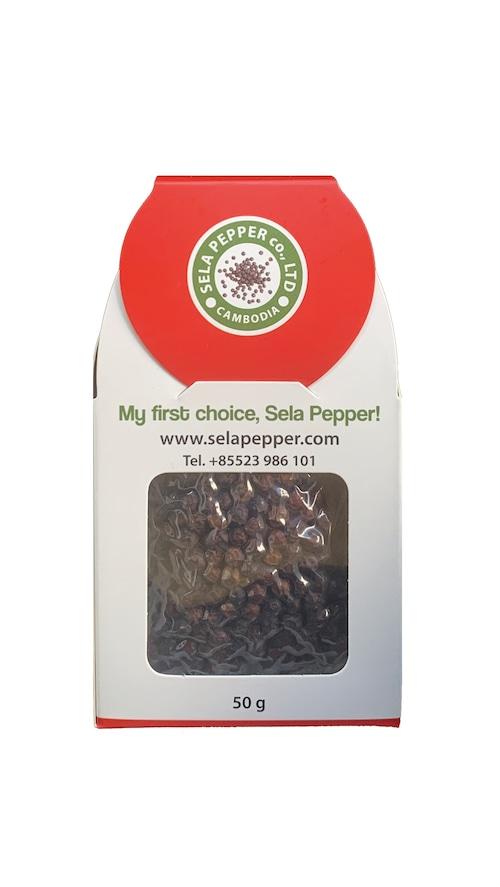 完熟 赤胡椒 Red Pepper Corn 50g