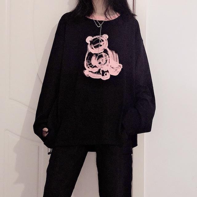 pink bear tops