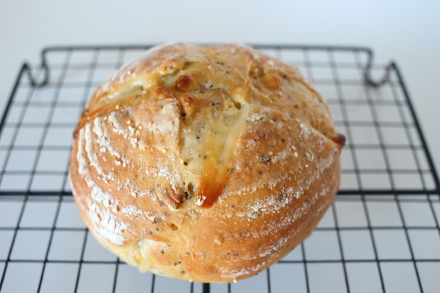アールグレイとホワイトチョコのパン