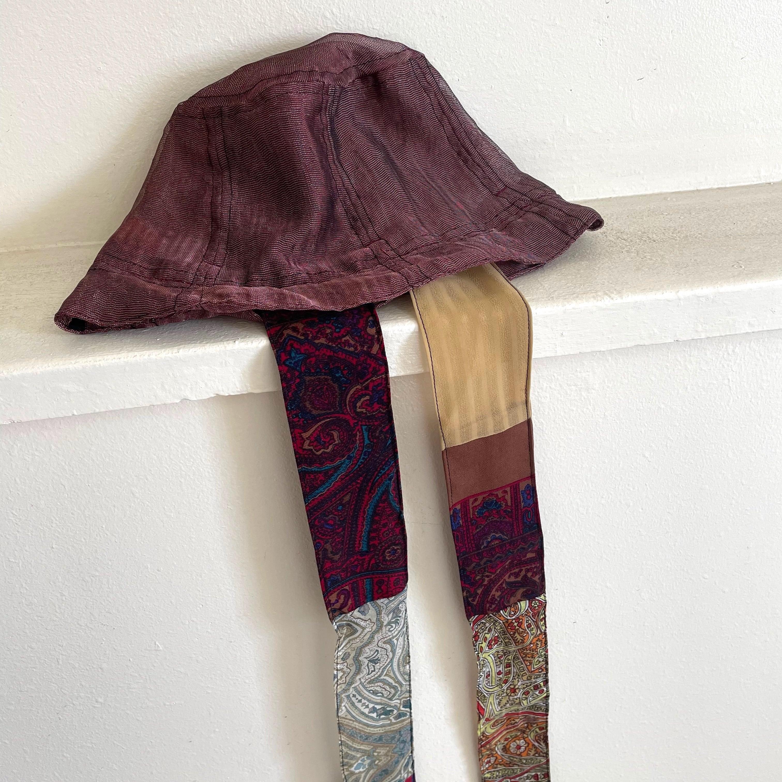 【RehersalL】mesh  basket hat(red) /【リハーズオール】メッシュバスケットハット(レッド)