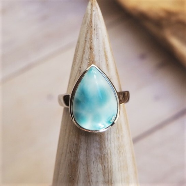 Larimar Ring 18388991-i【11号〜15号】