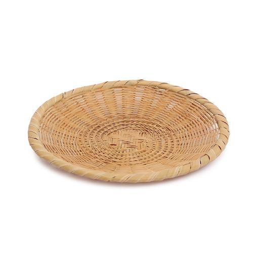 磨き竹そば盛皿(大) 【60-120】