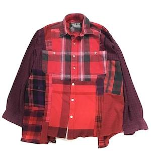 REMAKE  SHIRTS リメイクチェックシャツ【Shirts24】