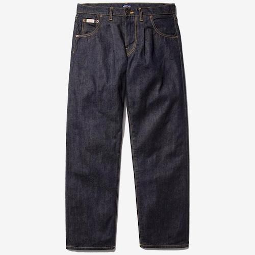 Pleated Jean(Indigo)