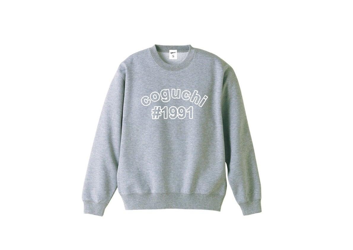 coguchi #1991 sweat (GRY)